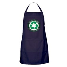 Cute Live in rhode island Apron (dark)