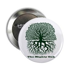 "Oak Tree 2.25"" Button"