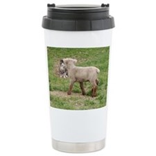Lamb & Kitty Ceramic Travel Mug