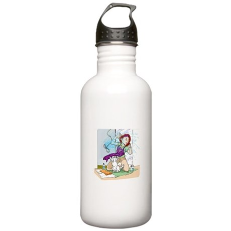 Getting Wet Stainless Water Bottle 1.0L