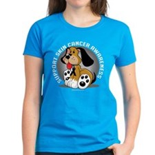 Skin Cancer Dog Tee