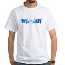 Wipeout Logo White T-Shirt