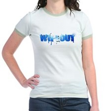 Wipeout Logo Jr. Ringer T-Shirt