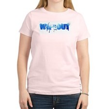 Wipeout Logo Women's Light T-Shirt