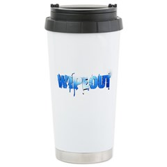 Wipeout Logo Ceramic Travel Mug