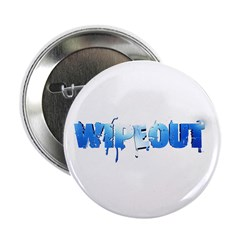 "Wipeout Logo 2.25"" Button"