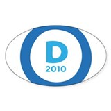 Democrats 2010 Decal