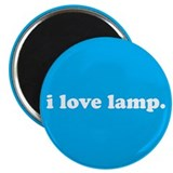 "i love lamp. - 2.25"" magnet"