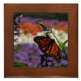 Butterfly (Image Dezign) Framed Tile