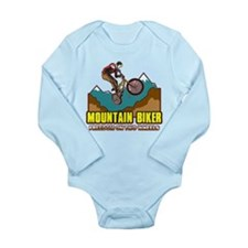 Mountain Biker Freedom Onesie Romper Suit