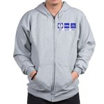 Eat Sleep Bike Zip Hoodie