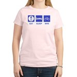 Eat Sleep Bike Women's Light T-Shirt