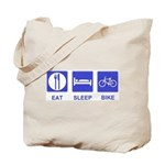 Eat Sleep Bike Tote Bag
