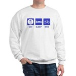 Eat Sleep Bike Sweatshirt