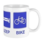 Eat Sleep Bike Mug