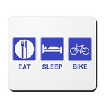 Eat Sleep Bike Mousepad