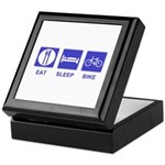 Eat Sleep Bike Keepsake Box