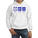 Eat Sleep Bike Hooded Sweatshirt