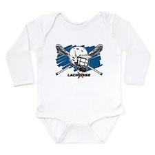 Lacrosse Attitude Long Sleeve Infant Bodysuit