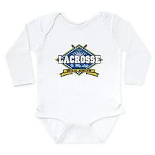 Lacrosse Is My Life Long Sleeve Infant Bodysuit