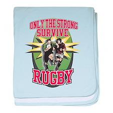 Rugby Survival Infant Blanket
