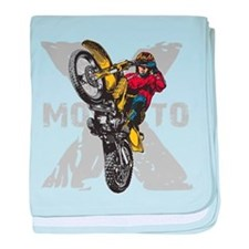Motorcross Stunt Infant Blanket