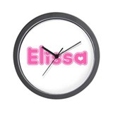 """Elissa"" Wall Clock"