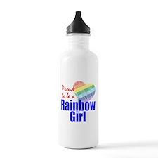 Rainbow Girls Water Bottle