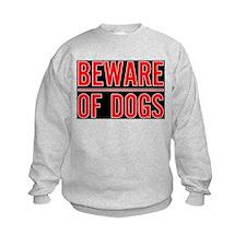 Beware of Dogs(Black) Sweatshirt
