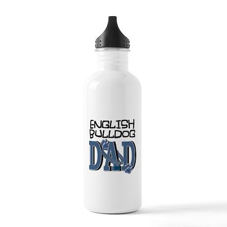 English Bulldog DAD Stainless Water Bottle 1.0L