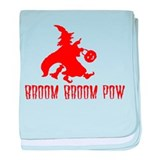 Broom Broom Pow Infant Blanket