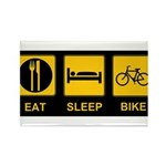 Eat Sleep Bike Rectangle Magnet