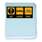 Eat Sleep Bike Infant Blanket