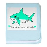 Shark Friend Infant Blanket