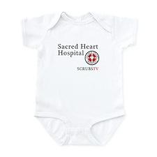 Sacred Heart ScrubsTV Infant Bodysuit