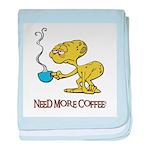 Cofee Alien Infant Blanket