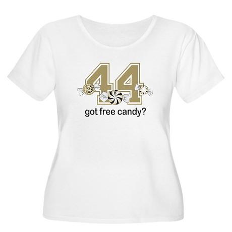 Got Free Candy Women's Plus Size Scoop Neck T-Shir