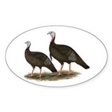 Eastern Wild Turkeys Decal