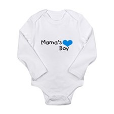 Mama's Boy Long Sleeve Infant Bodysuit