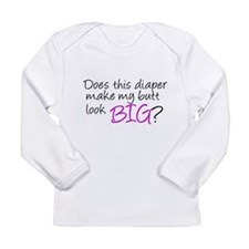 Cute Baby diva Long Sleeve Infant T-Shirt