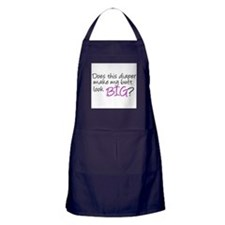 Unique Infant girl Apron (dark)