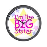 I'm the Big Sister Wall Clock