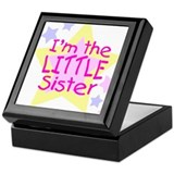 I'm the Little Sister Keepsake Box