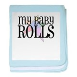 My Baby Rolls Infant Blanket
