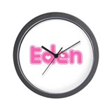 """Eden"" Wall Clock"