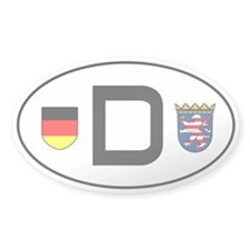 Germany car sticker (Hessen variant)