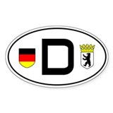 Germany car sticker (Berlin variant)