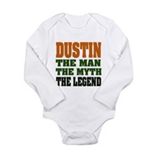 DUSTIN - the legend Long Sleeve Infant Bodysuit