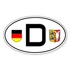 Germany car sticker (Schleswig-Holstein variant)