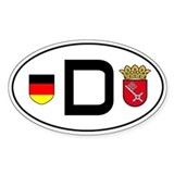 Germany car sticker (Bremen variant)